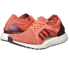 Adidas UltraBOOST X 4.0 Maroon Running Shoes Maroon/Orange [BB1694] Wome... - $79.10