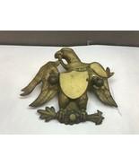 Vintage BRASS Bald EAGLE Door KNOCKER Needs REPAIR - £19.03 GBP
