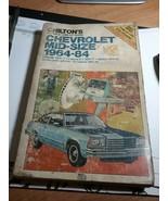 chilton manual chevrolet midsize 1964-84 - $4.95