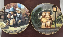 """M I Hummel Plate Collection,  """"Stormy Weather"""" And """"tender Loving Care"""" ... - $16.83"""