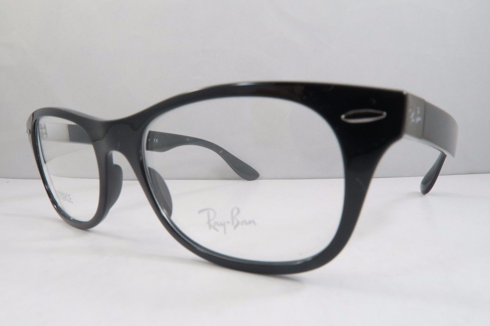 29401c0187cf0 Ray-Ban RB 7032 5206 LITEFORCE Black New Authentic Eyeglasses 52mm - 254