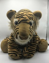 "Sitting Tiger Plush Large 18"" Kellytoy Stuffed Animal Very Rare HTF! - $25.51"