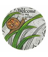 Summerfield Terrace 10018543 Welcome to My Garden Stepping Stone, White - $28.36