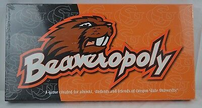 Primary image for Beaveropoly (Oregon State Univ.) Monopoly Game  USA 8+ Never Opened Sealed