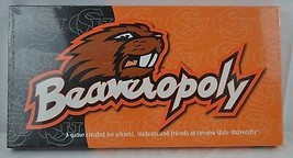 Beaveropoly (Oregon State Univ.) Monopoly Game  USA 8+ Never Opened Sealed - $34.99
