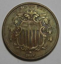 1867 NO RAYS SHIELD NICKEL 5¢ COIN Lot# MZ 4402