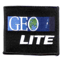 """4"""" SP-221 NASA GEO LITE EMBROIDERED PATCH - $23.74"""