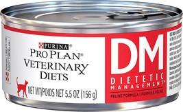 Purina Pro Plan DM Dietetic Management Formula Canned Cat Food 24/5.5 oz - $78.99