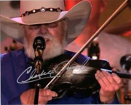 CHARLIE DANIELS  Autographed Authentic Signed Photo w/COA - 72532 - $105.00