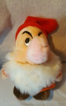 "Disney Grumpy Dwarf Plush Disneyland Snow White Stuffed Animal 8"" - $12.95"