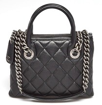 CHANEL Black Quilted Leather Small Boy Chained Tote Bag - $46.297,50 MXN