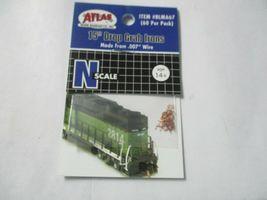 "Atlas # BLMA67 15"" Drop Grab Irons .007 Wire 60 Per Pack N-Scale image 5"