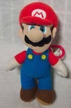 "Nintendo SUPER MARIO KEYCHAIN CLIP PURSE 7"" Plush STUFFED ANIMAL Toy - $14.85"