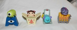New Disney Tsum Tsum Monsters Inc Blind Bag Complete Set Boo Sulley Mike... - $24.74