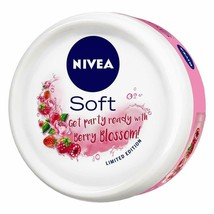 NIVEA Soft Light Moisturizer Cream Berry Blossom With Vitamin E & Jojoba... - $8.10+