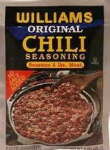 Williams Original Chili Seasoning For 4 lbs. Meat (Pack of 3) - $9.89