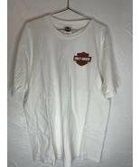 Harley Davidson Short Sleeve T-Shirt Dothan Alabama Eagle Red White Blue... - $27.10