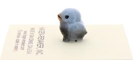 Hagen-Renaker Miniature Ceramic Bird Figurine Blue Tweetie Pa, Ma & Baby Set image 4
