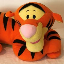 "Disney Tigger Plush 22"" Stuffed Animal Large Tiger Laying Down Big Soft Toy image 3"