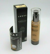 LORAC POREFECTION Sheer Foundation No.PS2 Light 1.2oz / 35ml NIB - $19.75