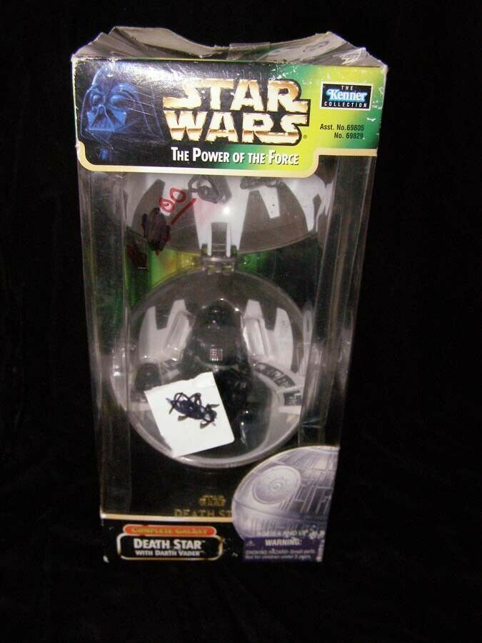 Primary image for Star Wars Power Of The Force Death Star With Darth Vader Kenner 1998