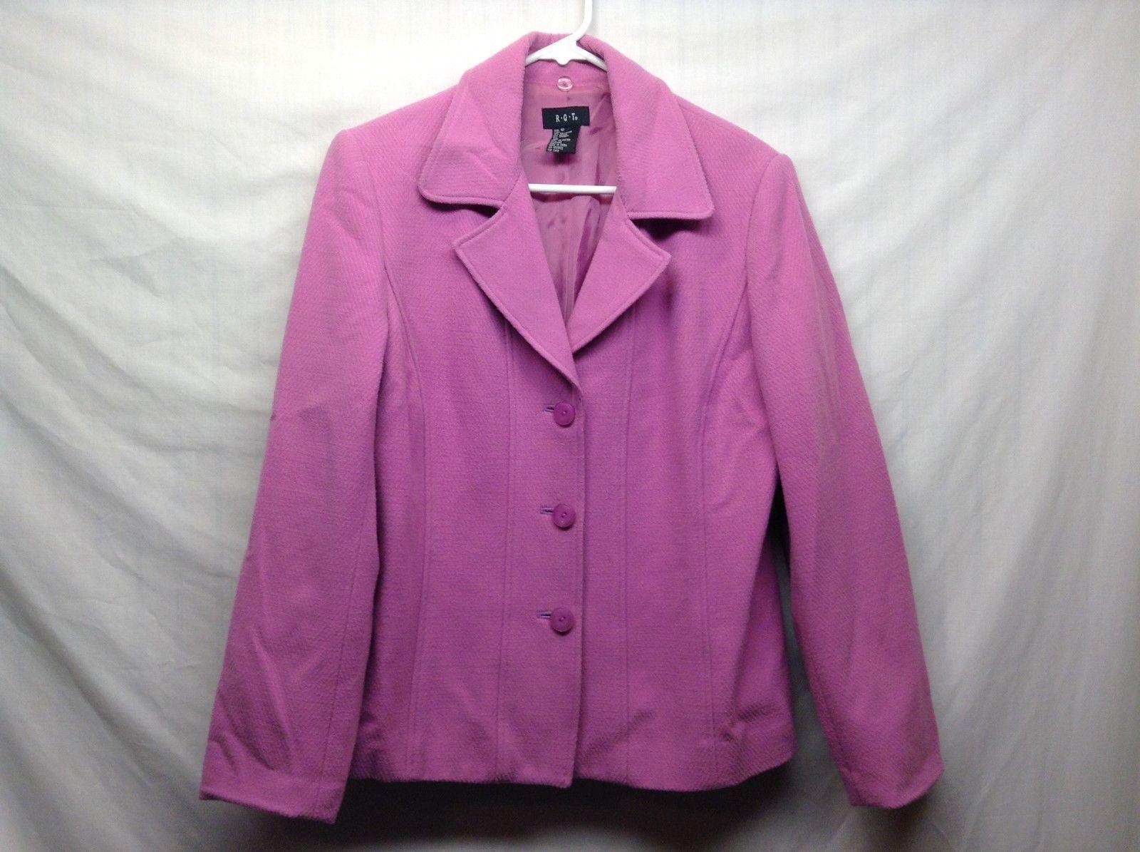 Ladies RQT Pink Blazer Sz 12