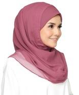 BOKITTA ROSY - BASIC LITE CHIFFON INSTANT HIJAB Muslim Scarf Veil Shawl - $44.82+