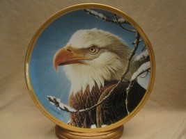 Ruler Of The Sky Collector Plate Bald Eagle John Pitcher Hamilton Portraits - $39.99