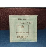 Cartier CX717-17 GS C43 REPLACEMENT Crystal 20.8 X 17.7  NIP free ship - $15.88