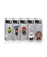 LINE Friends Beat BROWN Lighting Case V.2 Galaxy S8 / S8+ Cover Mobile S... - $43.98