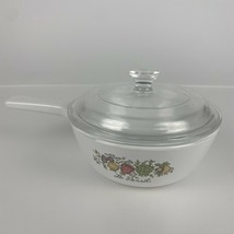 Vintage, Corning Ware, Spice Of Life, P-81-B, 1 Pint, Saucepan With Clear Glass - $23.36