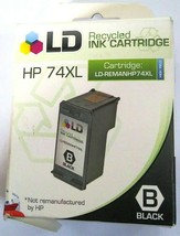 New Open Box Ld CB336WN High Yield Black Inkjet Cartridge For Hp 74XL - $9.89