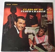Class of 66' Floyd Cramer LSP 3650 Stereo LP Vinyl Record  - $12.66