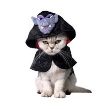 Pet Halloween Costume Cat Cloak Pet Rabbit Small Dog Cape Scottish Fold ... - €12,91 EUR+