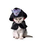 Pet Halloween Costume Cat Cloak Pet Rabbit Small Dog Cape Scottish Fold ... - €12,90 EUR+