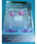 Christian Blessed Day 10 Piece Room Decorating Kit - New / Sealed - $10.65