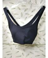 Victoria's Secret PINK Ultimate Lightly Lined Sports Bra Black Medium - $21.34
