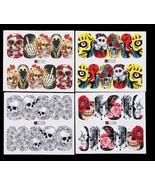 48pcs Halloween Christmas DIY Nail Wrap Stickers Nail Art Decorations Sk... - $7.90