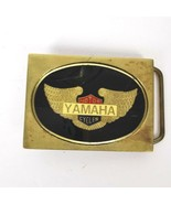 Yahmaha Motor Cycles Solid Brass Mens Belt Buckle Motorcycle Biker Circa... - $27.71