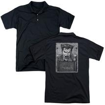 Batman - Joker Inmate (Back Print) Mens Regular Fit Polo - $24.99+