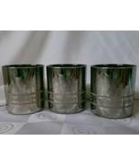 "Vintage Snap-On Tools ½"" Chrome Socket Old Fashioned Glasses Set of 3  - $46.50"