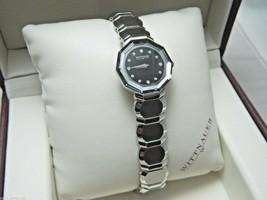 WITTNAUER 10P04 Women's Winter Garden Watch 12 Diamonds Retailed $695 - $297.00
