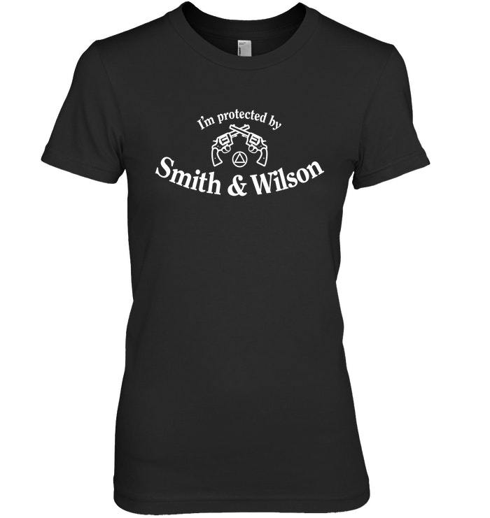Im Protected By Smith Wilson  12 Step Shirt