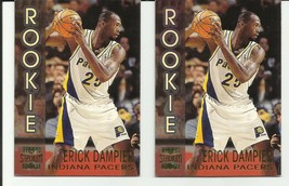 Erick Dampier 1996-97 Topps Stadium Club #R13 Indiana Pacers Rookie Lot Of 2 - $2.47