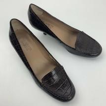Franco Sarto L-Jury Reptile Print Slip On High Heels Woman's Size 8.5 M - $19.79