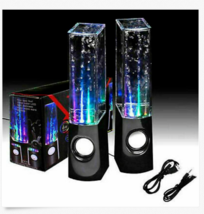 Water Dancing  STEREO MUSIC LED FOUNTAIN LIGHT SPEAKERS FOR IPAD IPHONE PC - $18.97 CAD