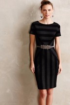 NWT ANTHROPOLOGIE GEOPLANE PENCIL DRESS by MAEVE 6, 8 - $85.49