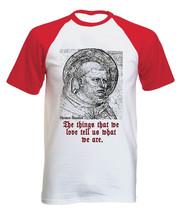 Thomas Aquinas  - NEW COTTON BASEBALL TSHIRT ALL SIZES - $26.81