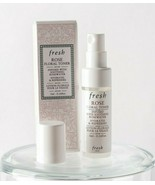 Fresh Rose Floral Toner Infused With Soothing Rosewater 0.16 oz / 5ml Ne... - $5.93