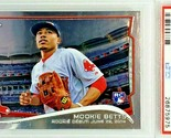 PSA 9  MOOKIE BETTS ROOKIE DEBUT 2014 TOPPS CHROME UPDATE #MB-46 RED SOX, MVP - £1,502.10 GBP